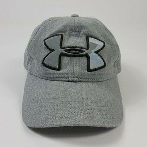 Under Armor Gray Golf Baseball Cap Adjustable Fit